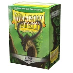 Dragon Shield 100 Box - Lime