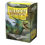 Dragon Shield 100 Box - Olive