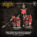 Iron Fang Pikemen Officer & Standard