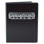 4-Pocket Collectors Portfolio - Black