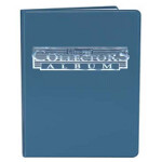 4-Pocket Collectors Portfolio - Blue