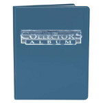 9-Pocket Collectors Portfolio - Blue