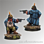Dwarf Sturmgrenadier Officer