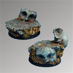 Ancient Ruins 40mm round bases set 2 (2)