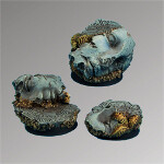 Ancient Ruins 25mm round bases set2 (3)