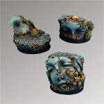 Ancient Ruins 25mm round bases set1 (3)