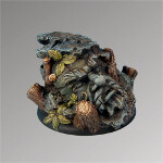 Dwarven Ruins 50mm round edge base