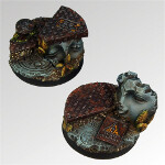 Ancient Ruins 40mm round bases set3 (2)