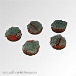 Straight from Hell 25 mm round bases (5)