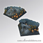 Chaos Ground Square Bases 40mm set (2)