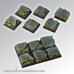 Elven Ruins Square Bases 20mm (5)