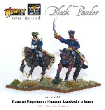 Napoleonic - Prussian Landwehr Officer Mounted (2)