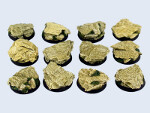 Shale Bases, Round 25mm (5)