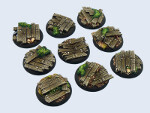 Wood Bases, WRound 30mm (5)