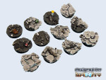 Urban War Bases, Round 25mm (5)