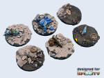 Urban War Bases, Round 40mm (2)