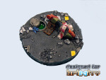 Urban War Bases, Round 60mm (1)