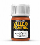 Vallejo Pigments - Dark Red Ocre