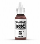 Model Color - Burnt Cadmium Red (034)