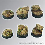Ancient Ruins 30mm - Round Edge Set2 (3)