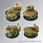 Ancient Ruins 40mm - Round Edge Set1 (2)