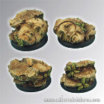 Ancient Ruins 40mm - Round Edge Set2 (2)