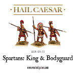 Spartan King & Bodyguard
