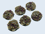 Dark Temple Bases, Flying 30mm (3)
