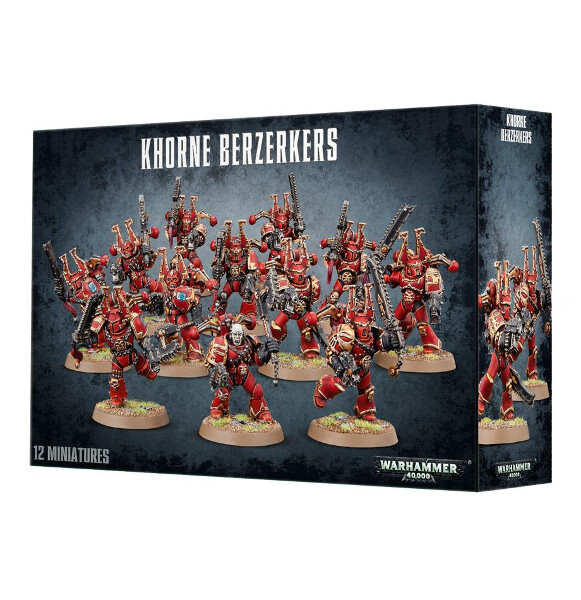 Dark Sphere - Chaos Space Marines: Khorne Berserkers