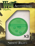 Green Translucent Bases 50mm (3)