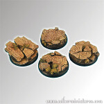 Ruins 40mm round edge bases