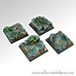 Ruins 40mm Square Bases (2)