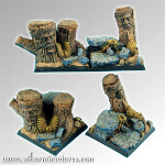 Forest 40mm square bases set1 (2)