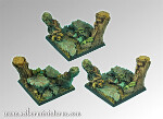Forest square bases 50mm