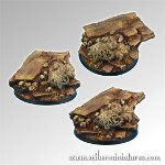 Celtic Ruins 60 mm round base #2