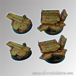 Platforms round bases 40mm set#1 (2)