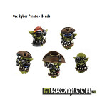 Orc Cyber Pirates Heads (10)