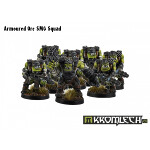 Armoured Orc SMG Squad (10)