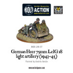 German Heer 75mm leIG 18 light artillery