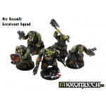 Orc Assault Greatcoat Squad