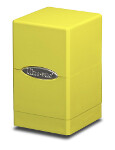 Satin Tower Deck Box - Yellow