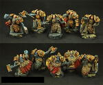 Celtic SF Warriors 5 Miniatures Set (5)