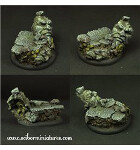 Dwarven Ruins #2 50mm - Round Edge