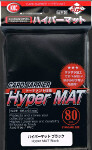 KMC Sleeves: HYPER MAT Black (80)