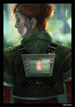 Deep Red: Netrunner Art Sleeves