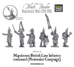 Napoleonic British Line Infantry command (Peninsular)