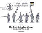 Napoleonic British Line Infantry command (Waterloo)