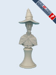 Discworld Bust: Rincewind (Unpainted)