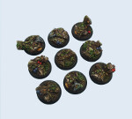 Forest Bases, Wround 30mm (5)