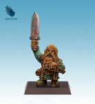 Dwarf with a Crossbow and Sword